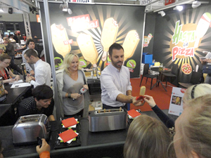 Visitors to the Anuga food fair in Germany tasted innovative food ideas from around the globe.