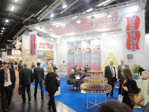 Scandic Food, the largest manufacturer of jams and marmalades in the northern part of Europe, was one of over 6,500 suppliers exhibiting at the Anuga food fair.