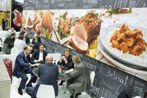 The Anuga food fair's Matchmaking365 program connects companies to further discussions on potential collaborations and investment opportunities.
